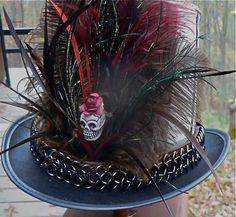 BAMF Full Size Top Hat by LucretiaMcEvil on Etsy, $90.00