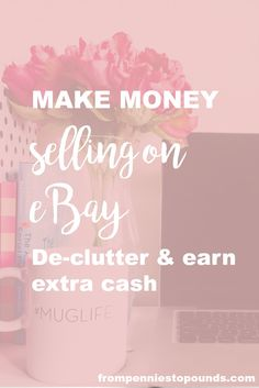 Feeling apprehensive of selling on eBay? It's really easy - I can show you how on my step-by-step tutorial, just click on the link below: http://www.frompenniestopounds.com/selling-on-ebay-making-money/