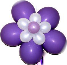Flor de globos