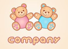 teddy bears Logo Design - LogoMyWay.com ™ http://www.logomyway.com/sellLogoDetail.php?uId=15868=2223