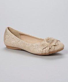Champagne Glitter Smart Flat - Wedding Inspirations