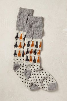 Colour & Contrast Socks. Some traditions we just have to up keep and that's getting socks for Christmas. Perk up your outfit with these pop-bright pull-ons.