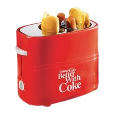 I pinned this Coca-Cola Hot Dog Toaster from the Nostalgia Electrics event at Joss and Main!