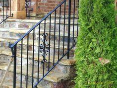 Decorative Step Rail