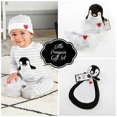"""""""Little Penguin"""" Baby Gift Set"""