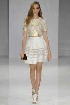 Genny RTW Spring 2014, #23 / Love the top.  As far as the skirt is concerned, it reminds me too much of the skirts/dresses from Temperley London S/S 2013