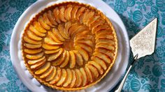 Mary Berry: French apple tart. This sounds most like the one I recall from childhood family holidays in Brittany and Normandy.