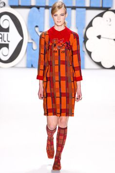 Anna Sui | Fall 2012 Ready-to-Wear Collection | Vogue Runway