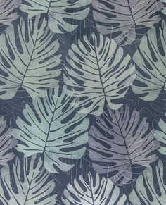 Zanzibar - Midnight fabric, from the Curious World collection by Olivia Bard