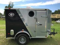 Airstream Trailers For Sale, Cargo Trailers, Travel Trailers, 5x8 Trailer, Cargo Trailer Camper Conversion, Diy Camper, Camper Ideas, Tiny House Builders, Small Suv