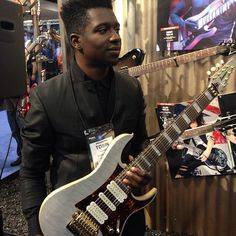 Best Electric Guitarist Tosin Abasi at NAMM Music Show 2013