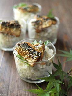 鰯の蒲焼プチ梅紫蘇丼。|レシピブログ