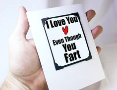 Valentine. Funny Valentine Card. Funny Greeting by katndrewcards, $6.00