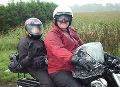 Cold weather motorcycle clothing