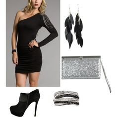another possible NYE outfit, ahh can't decide.