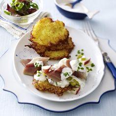 Kartoffelpuffer nach Hausfrauen Art