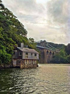 Menai Bridge, Isle of Anglesey, North Wales