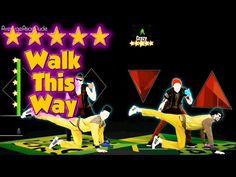 Just Dance 2015 - Walk This Way - 5* Stars Dance 2015, Singing Games, Broken Video, Dance Parties, Indoor Recess, The Wiggles, School Videos, Brain Breaks, Walk This Way
