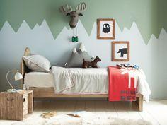 Une chambre d'enfant à l'esprit montagnard