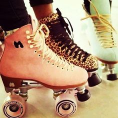 Roller skates =] I really want a pair :D Just discovered the brand name for these exact skates is Moxi