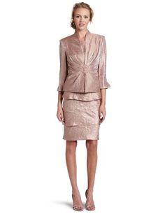 Jessica Howard Women's Rosy Mob Jacket Dress $128.00
