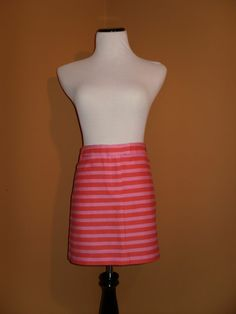 NWT J Crew Postcard Mini in Textured Stripe, Size 10 SOLD OUT ONLINE