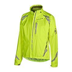 """""""Luminite II Jacket"""" Endura Regenjacke - Bei der wind- und wasserdichten, 2,5-lagigen Jacke Luminite II trifft Funktion auf maximale Sichtbarkeit – und das bei einem sehr fairen Preis! #Globetrotter #biking"""