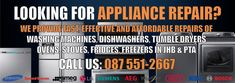 Tumble Dryers, Domestic Appliances, Appliance Repair, Stove Oven, This Is Us Quotes, Pta, Freezer, Washing Machine, Dishwasher