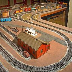 Lionel train layouts | Model Trains #lioneltrainsets #lionelhotrains