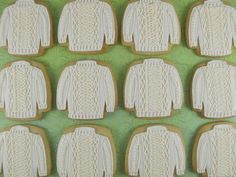 Aran cookies - how cute are these?