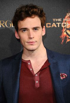 OK, welcome, sit down, have a drink, and say hello to beautiful human and British stud Sam Claflin.