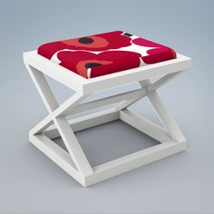 The perfect accompaniment for a desk or vanity, the cabana stool features an x-base and comfy cushion. Modern Childrens Furniture, Cabana, Baby Kids, Hardwood, Stool, Cushions, House Design, Comfy, Home Decor
