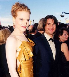 Nicole Kidman and Tom Cruise, 2000 Oscars