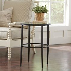 Found it at Wayfair - Harlan Round Side Table