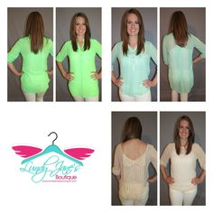 Check out these tops!