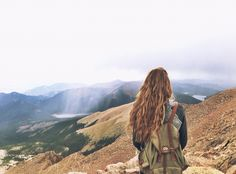 Pikes Peak, Colorado thin air never looked so beautiful. (instagram: clairemichelle98)