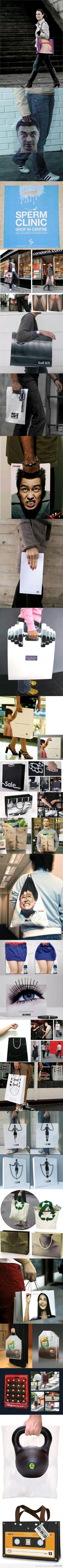 funny and great designs for bags