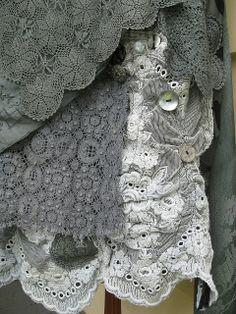 Front hem Fade to Grey Dress