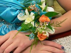 Dance corsage! Ours are the best!