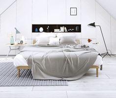 Schlafzimmer Ideen Weiss Kleiderschrank Handgewebter Teppich