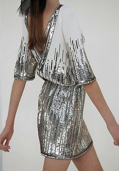 sequin New Years Eve dress