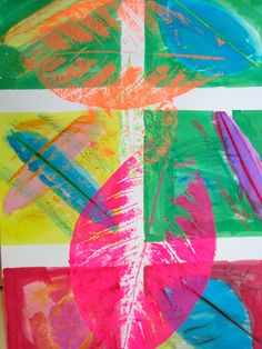 The Grade 1 Artists are hard at work in a Sharing the Planet Unit that explores the interdepence of humans and p...
