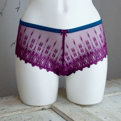"""CHARLOTTE """"Lace String Panty""""  The cheeky #lace string #panty — shows off """"just…"""
