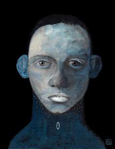 Blu | Pintura de Bran Sólo | Flecha