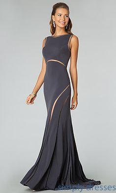 Dresses, Formal, Prom Dresses, Evening Wear: Floor Length Sleeveless Open Back JVN by Jovani Dress