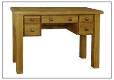 ELEPHANT  FURNITURE -  Danube - Dressing Table (1200mm x 450mm x 780mm High)  DWO-DT045 - SPECIAL PRICE: $212.5 Dressing Table, Weathered Oak, Oak, Corner Desk, Desk, Furniture, Home Decor, Buying Wholesale
