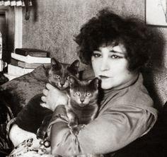Colette et ses chats,  Henri Manuel, 1935, DR
