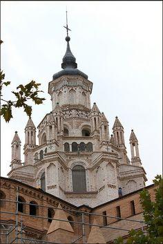 Cimborrio Catedral Tarazona  Aragón  Spain