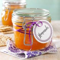 Orange Jelly - could this be any easier?  Great for those who don't like the rind in marmalade
