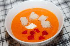 Sültpaprika krémleves recept
